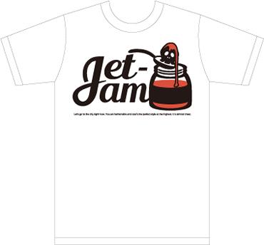 Jet-jam TシャツNo.001
