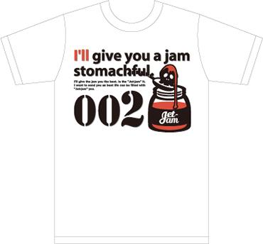 Jet-jam TシャツNo.002