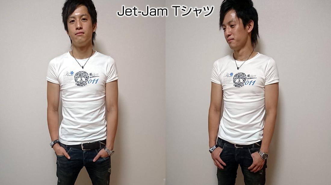 一般的なTシャツ例